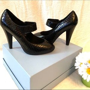 Saks Fifth Avenue Leather Mary Janes